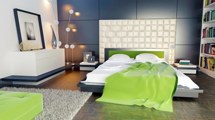 Make Big Statement In Small Bedrooms4