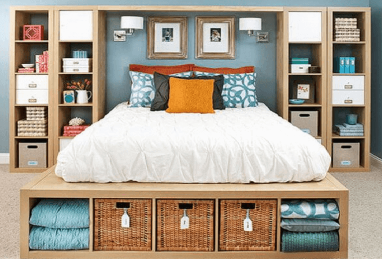 40 Quick Tips For Organizing Your Bedroom BiggieTips Adorable How To Organize Your Bedroom