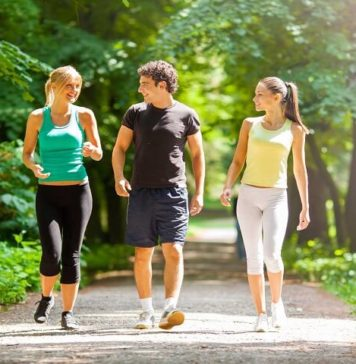 How to lose weight just by walking
