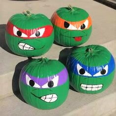 20 Easy Halloween Pumpkin Painting Ideas-13