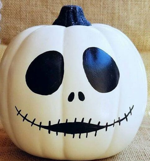 20 Easy Halloween Pumpkin Painting Ideas-5
