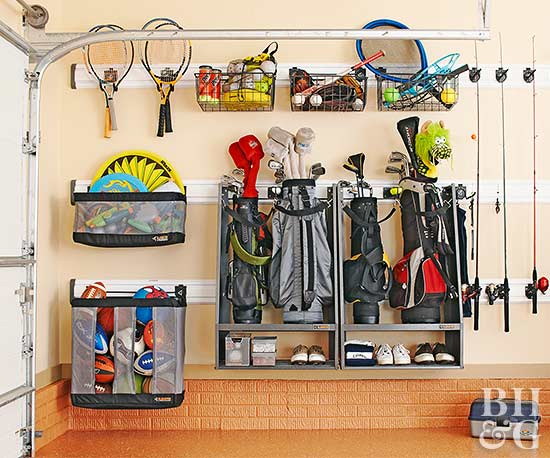 Brilliant Garage Organization Hacks and Ideas-2