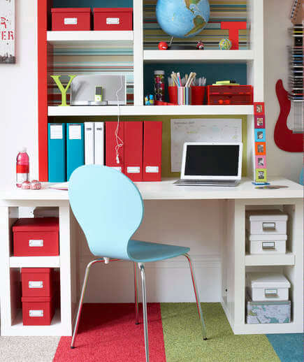 Surprising Small Home Office Ideas - Colour palette
