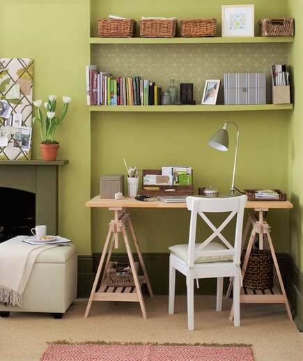 Surprising Small Home Office Ideas - Empty corners and light