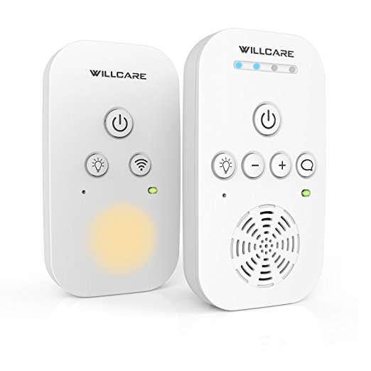 The Top 10 Picks for Baby Camera Monitors- Willcare Portable Digital Audio Baby Monitor