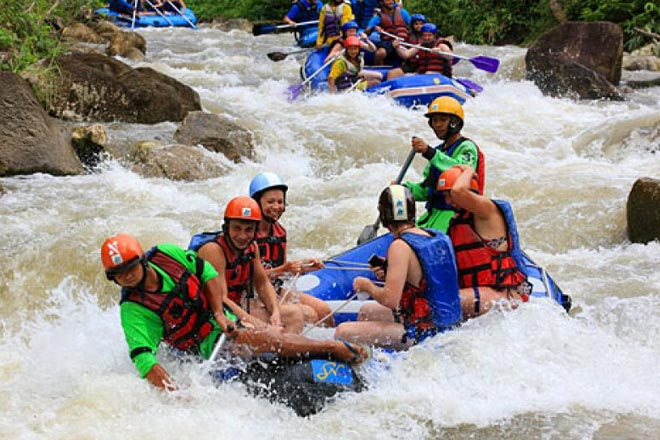 The Ultimate Travel Guide to Visit Phuket Thailand-White Water Rafting
