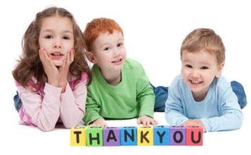 Simple Ways to Teach Children to be Grateful