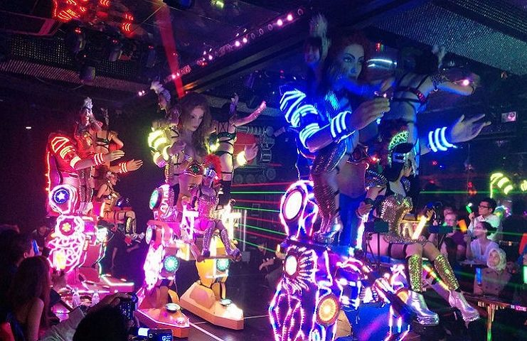 Where to Visit and Things to do in Tokyo - Robot Restaurant-1