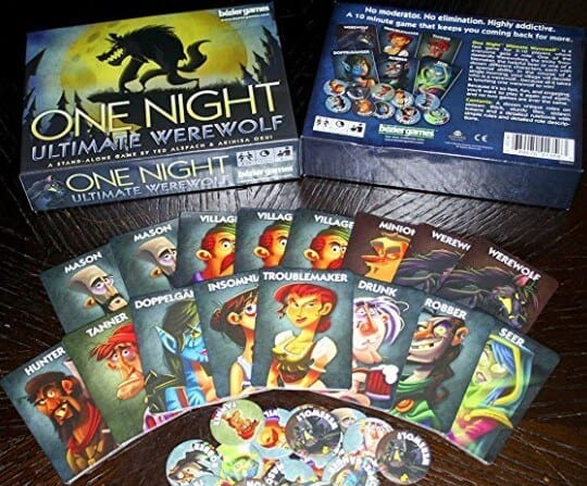 12 Fun Board Games for Parties or Big Groups - One-Night Ultimate Werewolf
