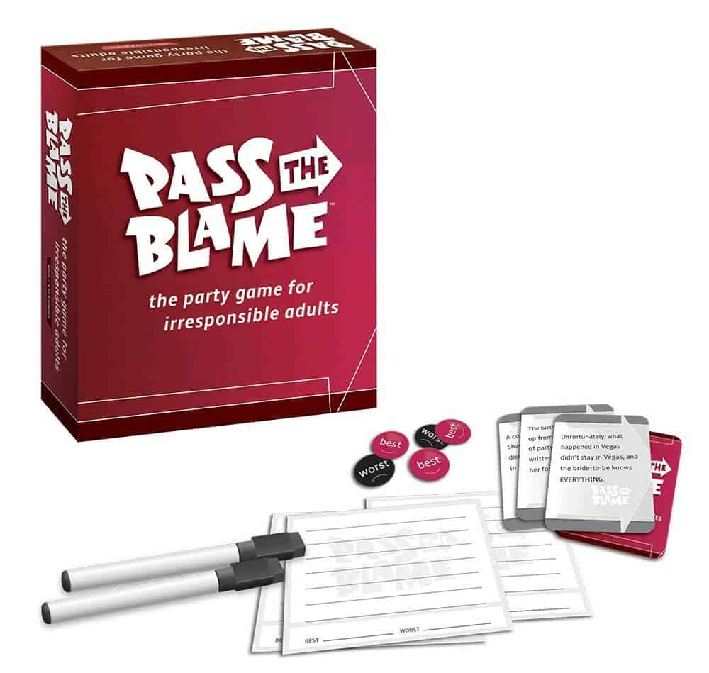 12 Fun Board Games for Parties or Big Groups - Pass the Blame