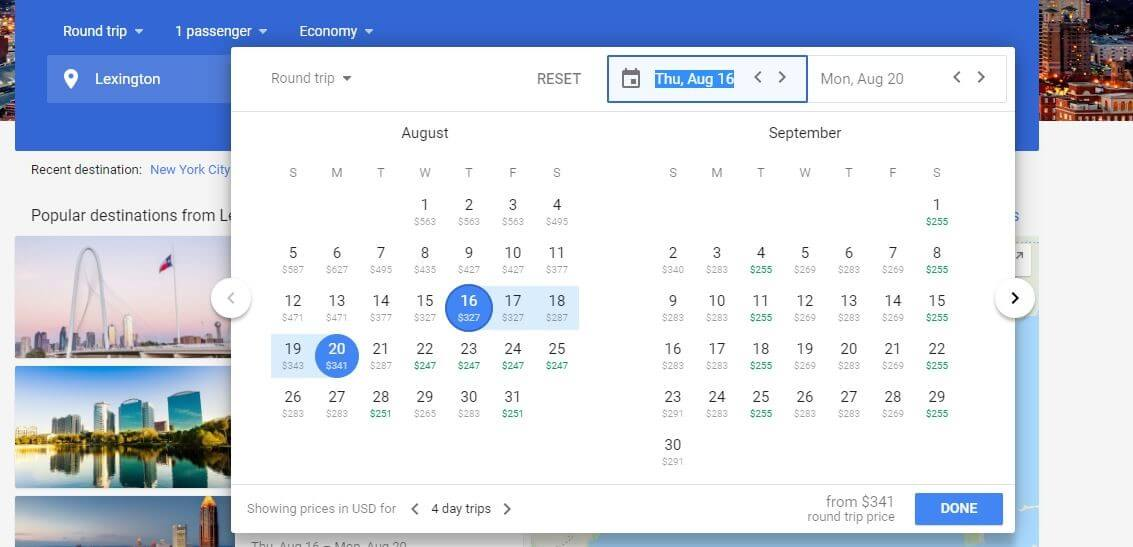 Google Flights Guide: How to Find the Cheapest Flights 1-1