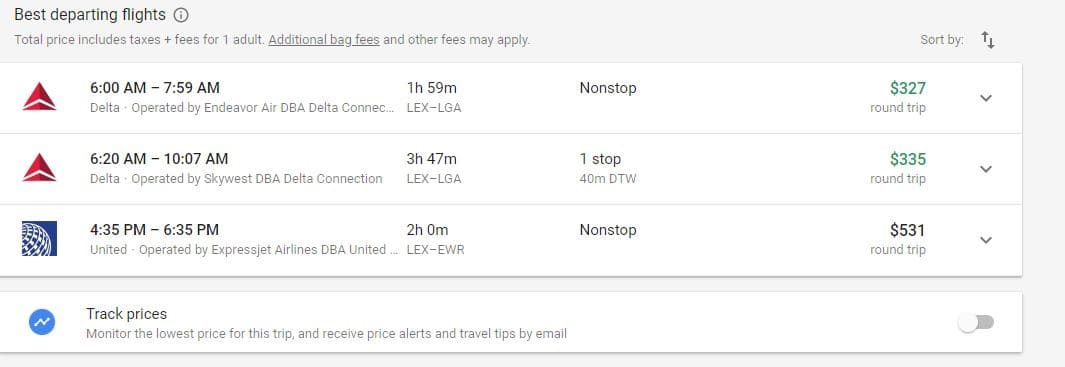 Google Flights Guide: How to Find the Cheapest Flights 10-1