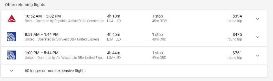 Google Flights Guide: How to Find the Cheapest Flights 10-4