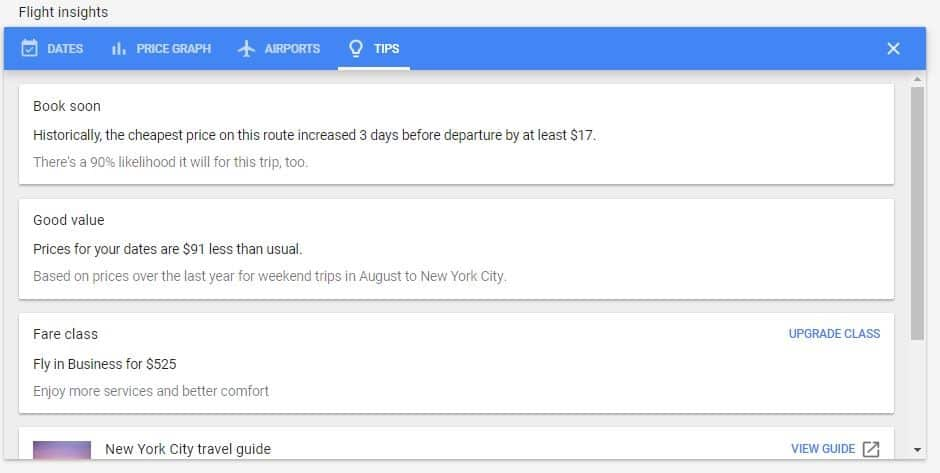 Google Flights Guide: How to Find the Cheapest Flights 8