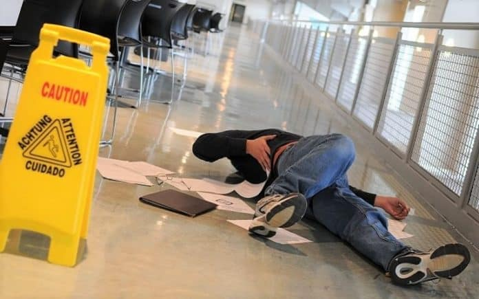 What Should You Do If You Slip and Fall at Work?