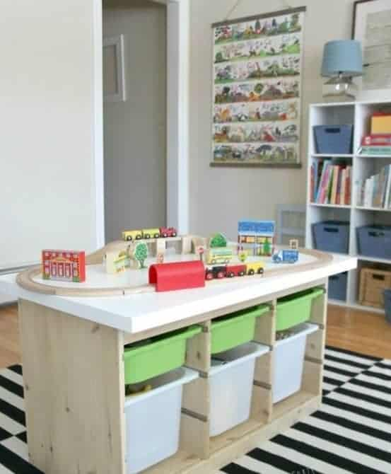 15 Clever Ways to Organize Your Kids' Toys 12