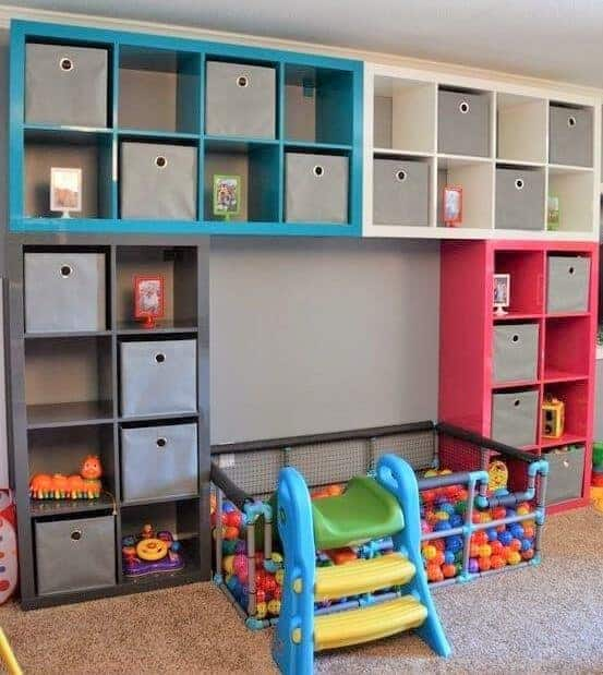 15 Clever Ways to Organize Your Kids' Toys 14