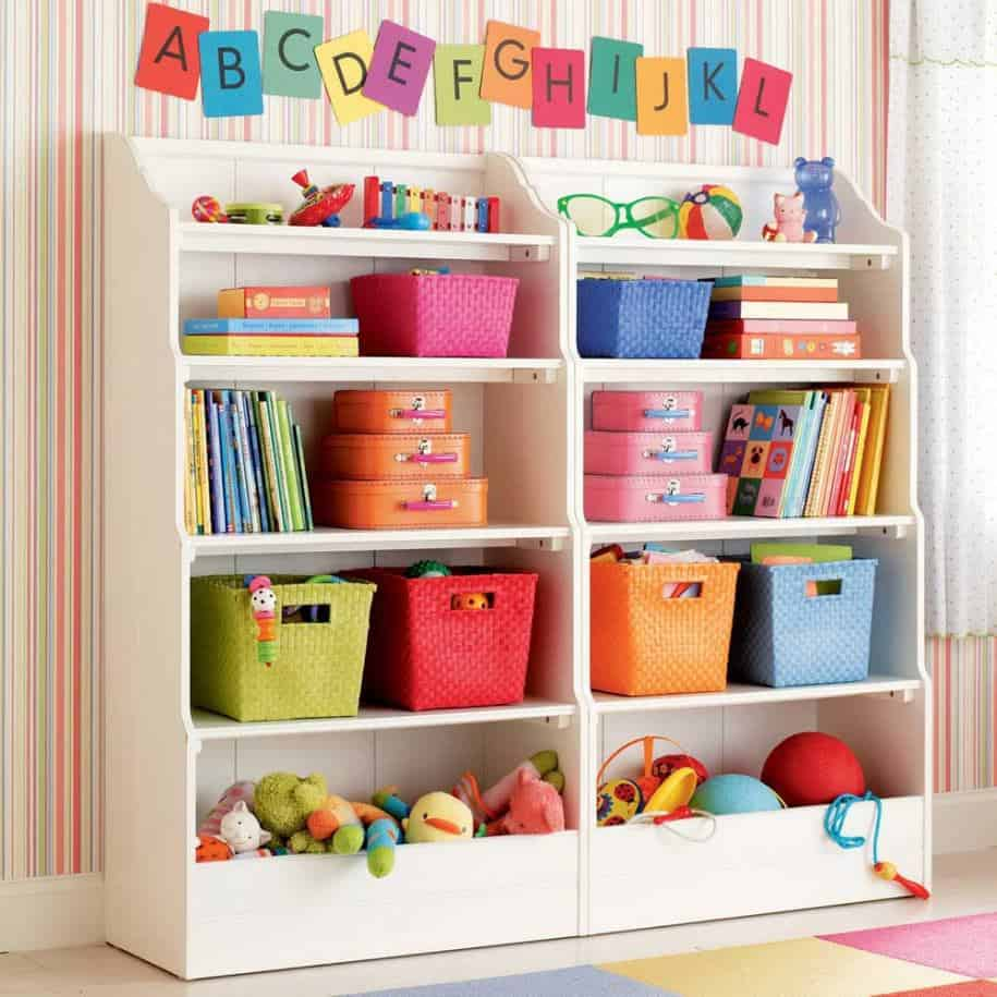 15 Clever Ways to Organize Your Kids' Toys 15