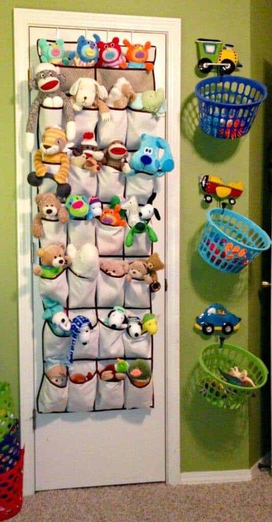 15 Clever Ways to Organize Your Kids' Toys 2