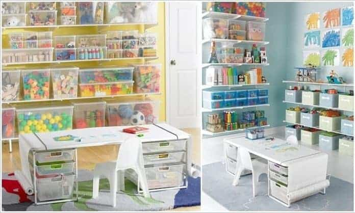 15 Clever Ways to Organize Your Kids' Toys