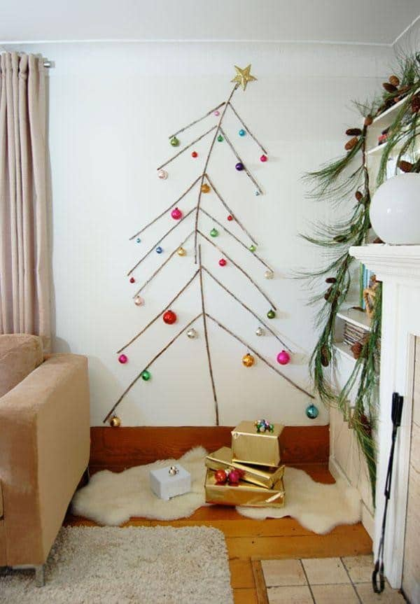 21 Unique Christmas Tree Ideas 4