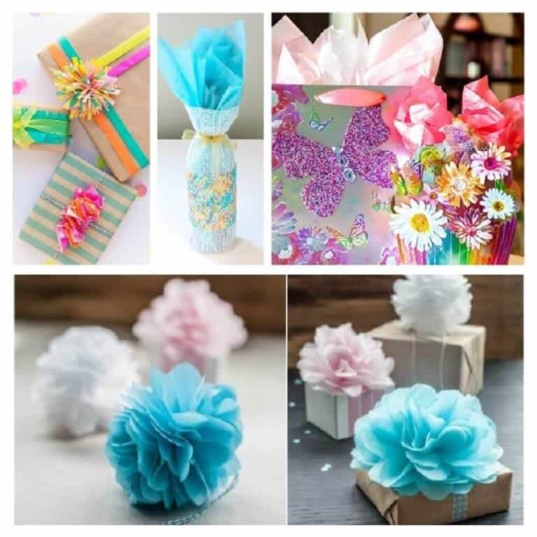5 Creative Gift Wrapping Ideas With Tissue Paper Https Www Biggietips Com