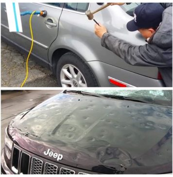5 Simple Ways to Fix Car Dents Yourself