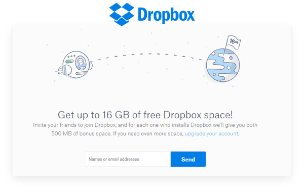 referral-marketing-strategies-for-business-growth-Dropbox