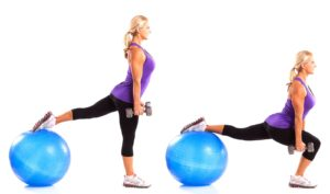 How to Use an Exercise Ball to Shape your Body