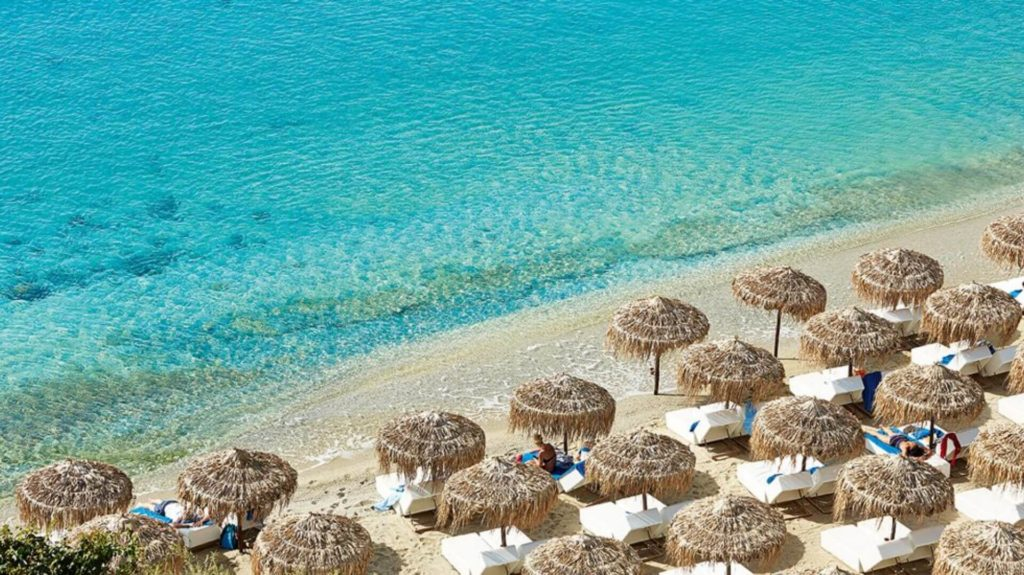 The Ultimate Greece Travel Guide- Psarou Beach