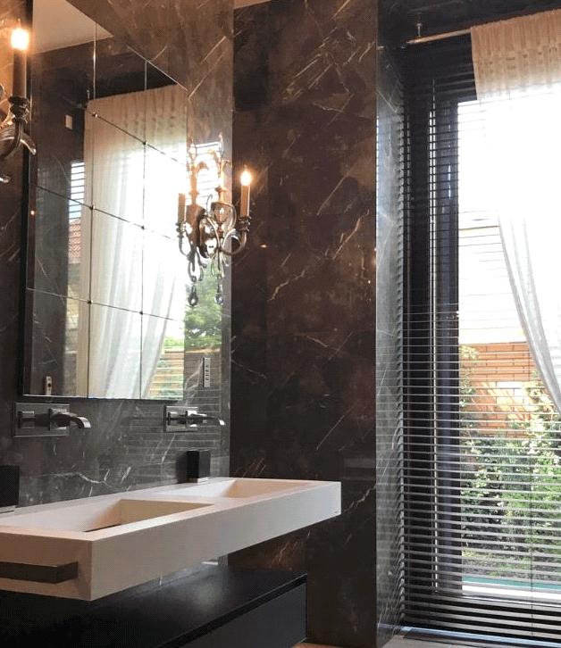 9 Lighting Ideas for Your Bathroom Design- Numerous Antique Chandeliers