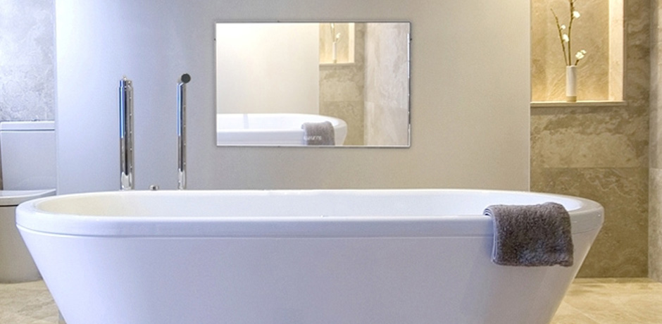 9 Lighting Ideas for Your Bathroom Design- Zone with Color