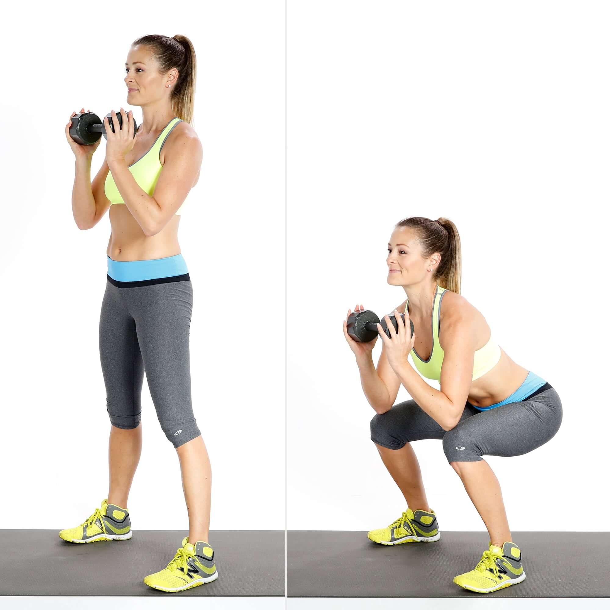 All you Need to Know About HIIT Workout-Goblet Squats