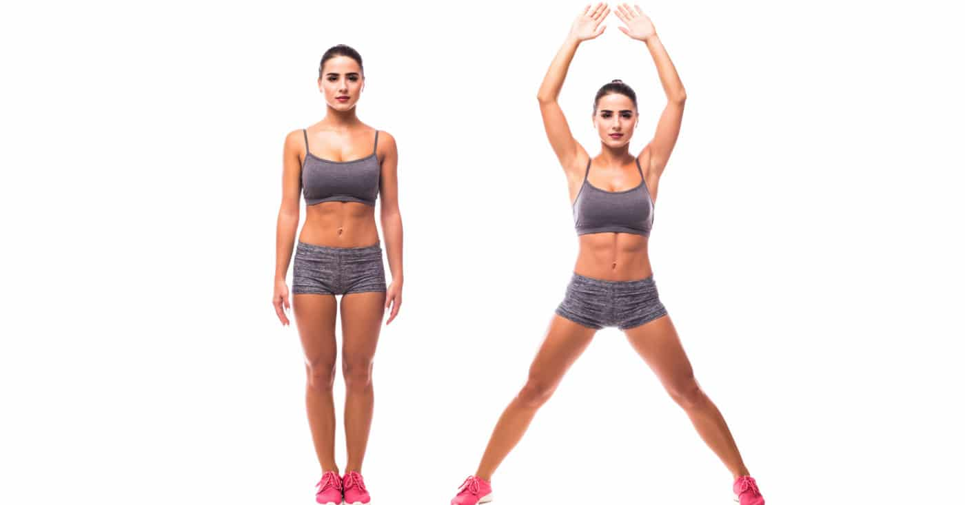 All you Need to Know About HIIT Workout-Jumping Jacks