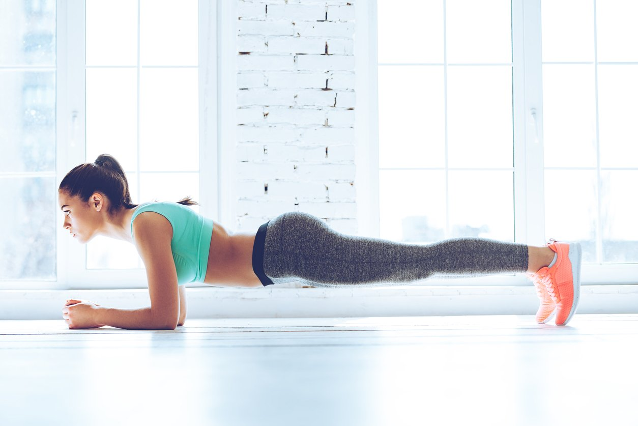 All you Need to Know About HIIT Workout-Plank