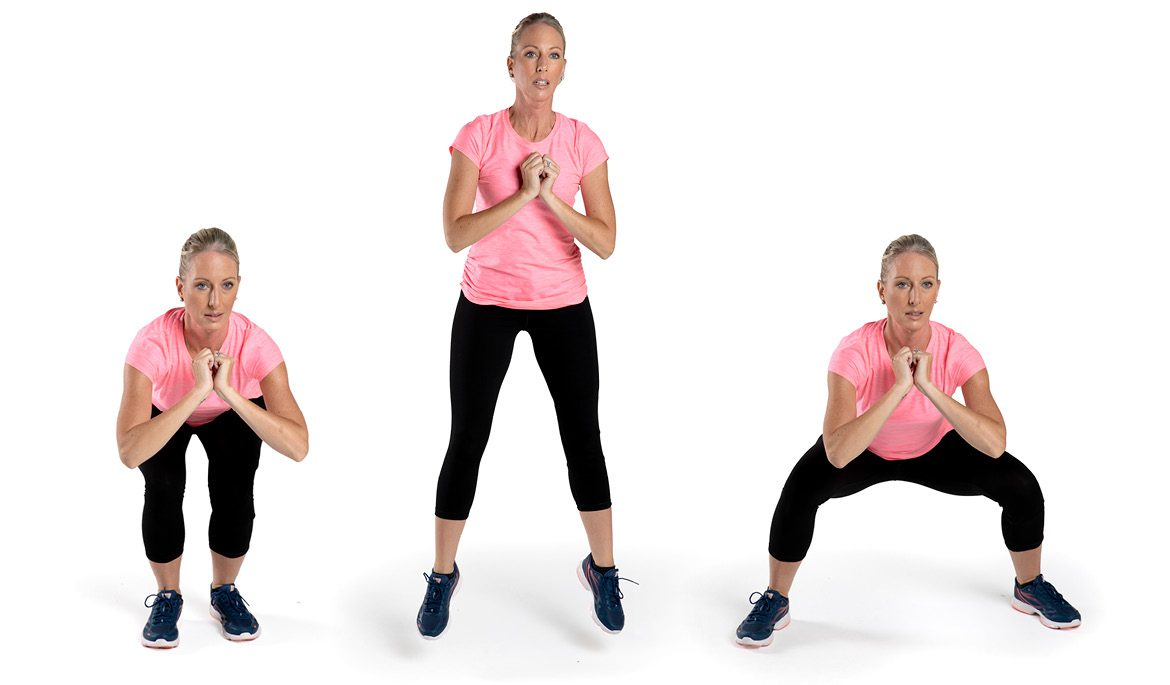 All you Need to Know About HIIT Workout-Squat Jumps