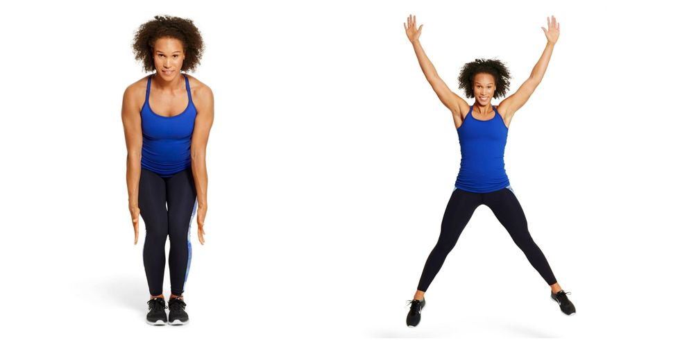 All you Need to Know About HIIT Workout- Star Jumps