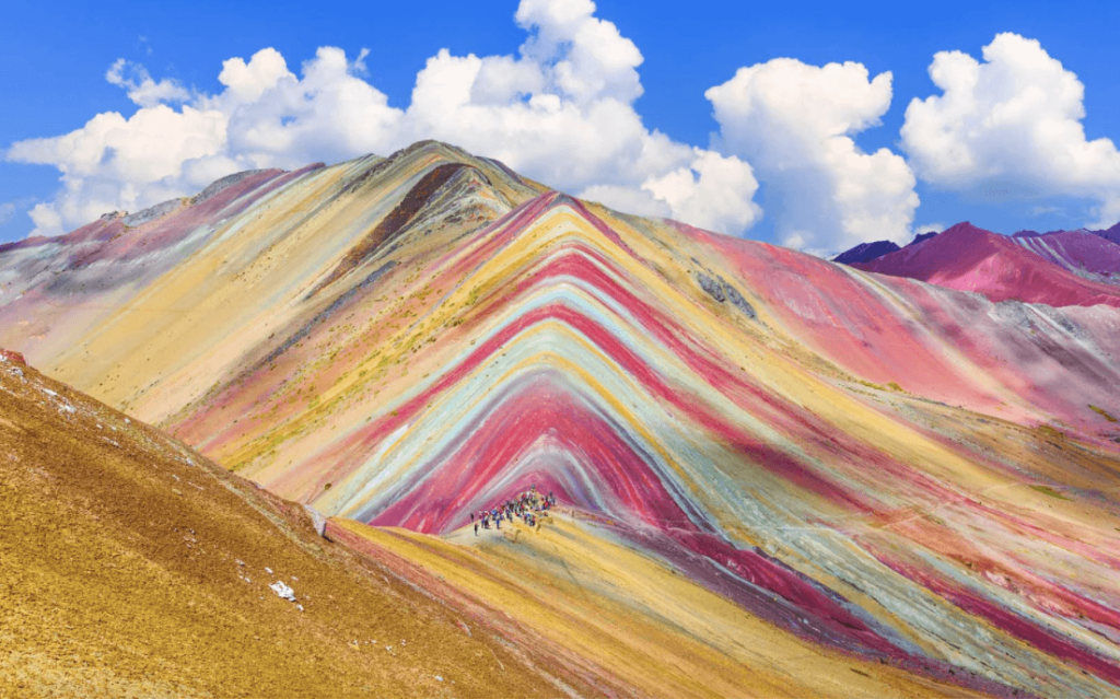 20 Weird Places around the World You Must Visit-Rainbow Mountains