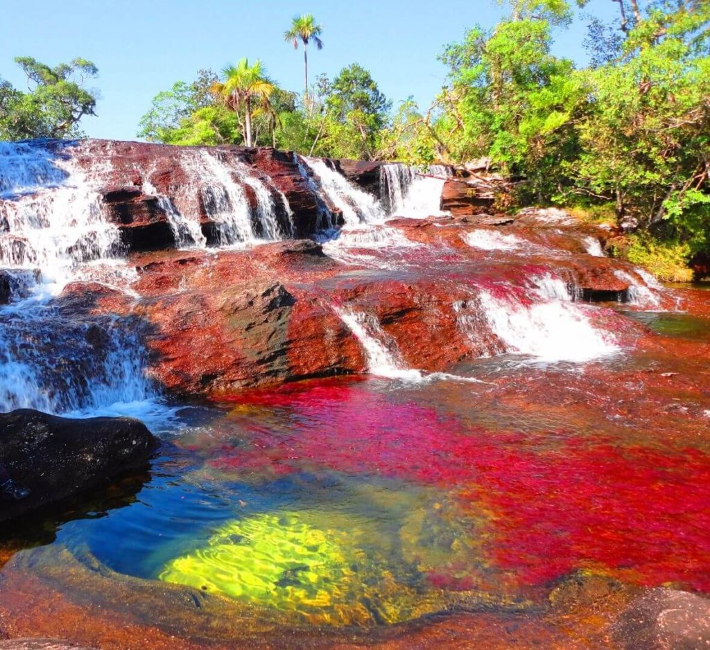 20 Weird Places around the World You Must Visit- River of Five Colors