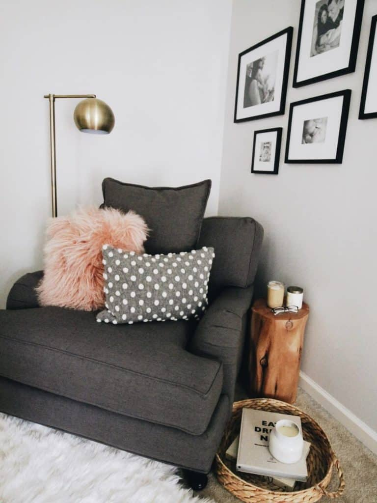 Interior Design Tips to Create the Perfect Reading Nook- Place Family Pictures