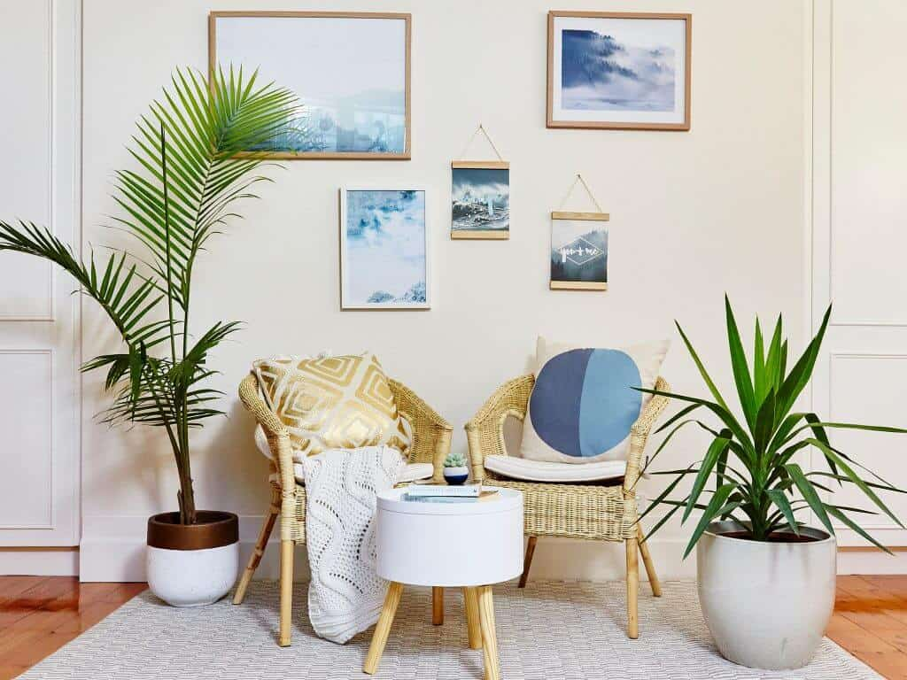 Interior Design Tips to Create the Perfect Reading Nook- Put a Plant Nearby