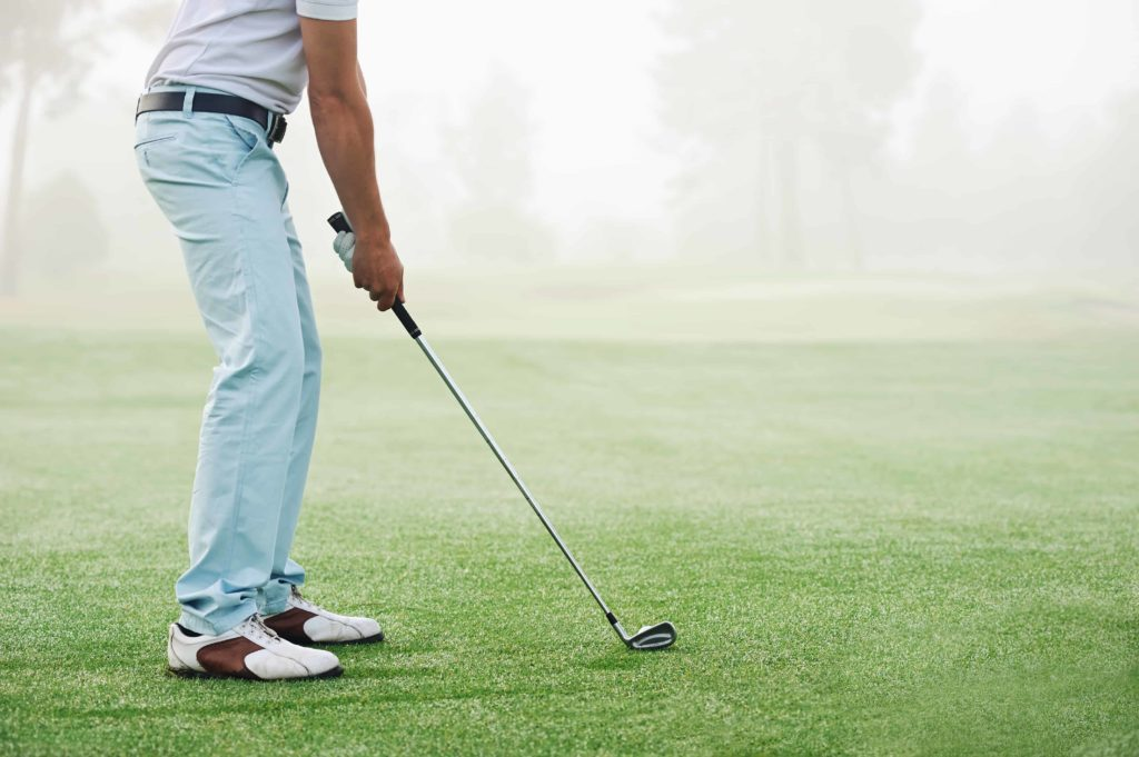 How to Swing a Golf Club: Beginners Guide- Keep Hands Low
