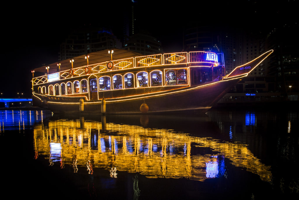Tips and Tricks to Sustain a Spontaneous Vacation in Dubai- Dhow Cruise