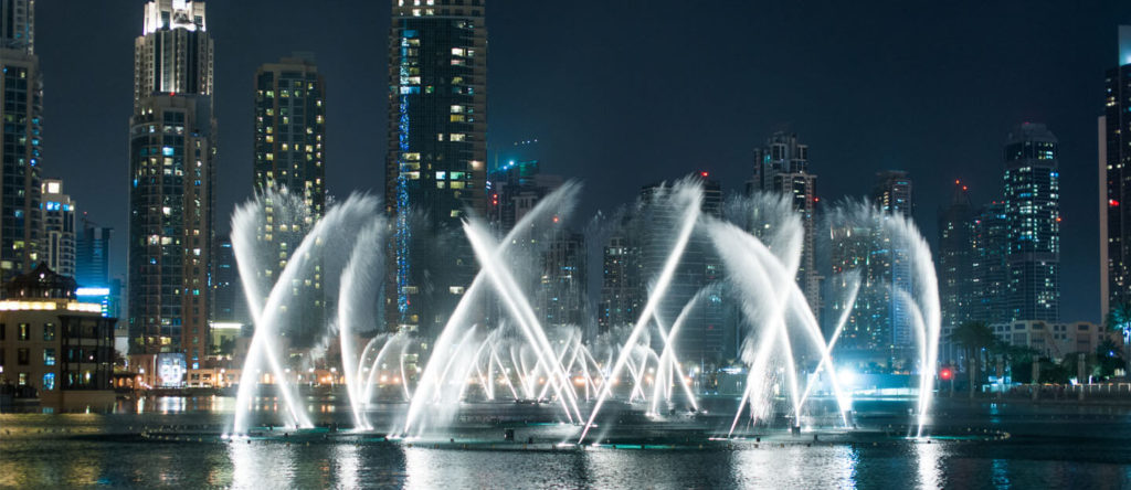 Tips and Tricks to Sustain a Spontaneous Vacation in Dubai- Dubai Fountain