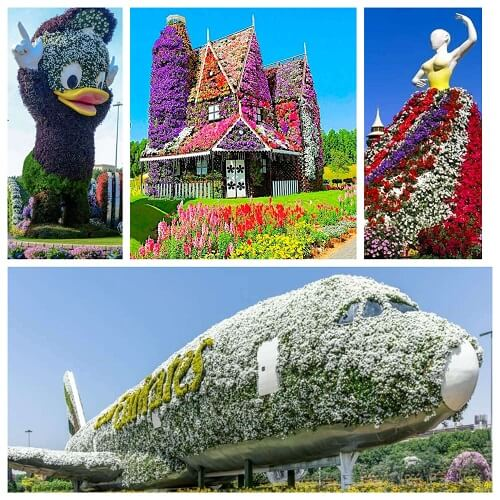 Tips and Tricks to Sustain a Spontaneous Vacation in Dubai- Dubai Miracle Garden