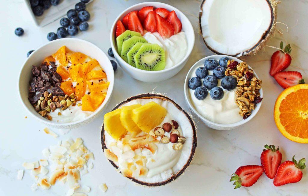Healthy Diet Ideas to Help You Lose Weight Like a Model- Fresh Fruit With Greek Yogurt