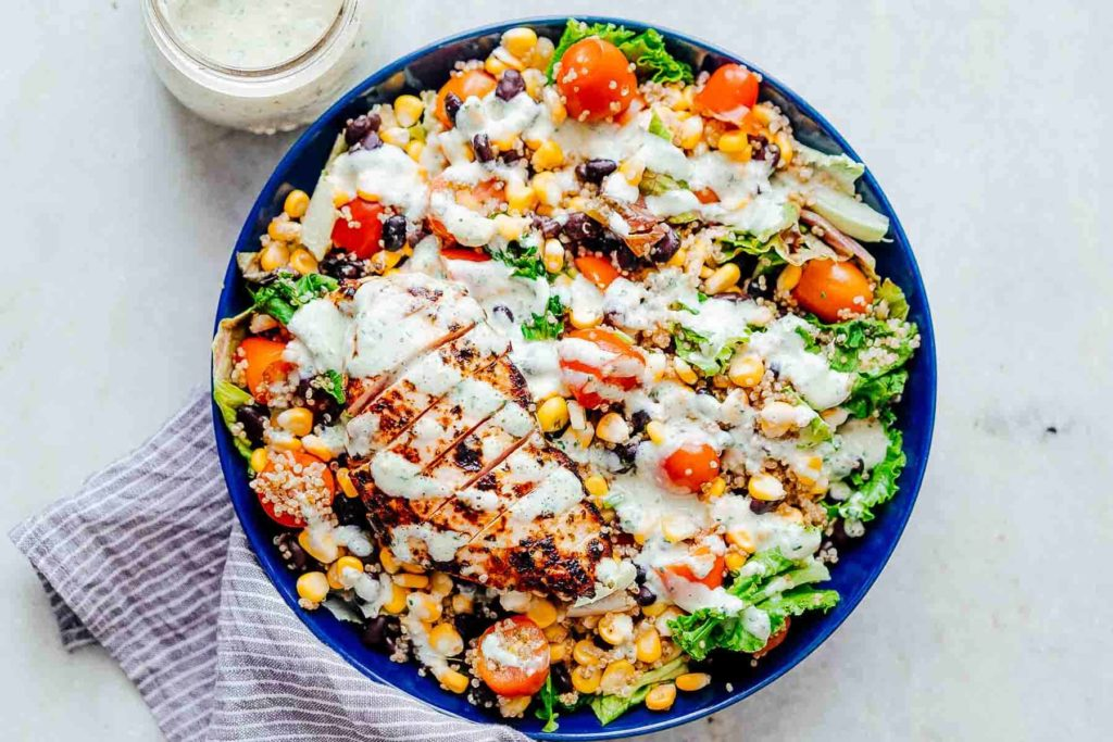 Healthy Diet Ideas to Help You Lose Weight Like a Model- Quinoa and Chicken Salad
