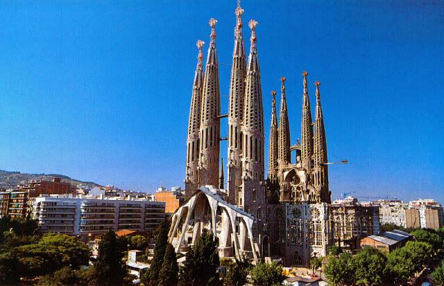 5 Fabulous Attractions in Spain- Sagrada Familia