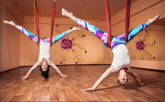 Aerial Yoga Guides for Beginners – What to Know and How to Do - Star Inversion