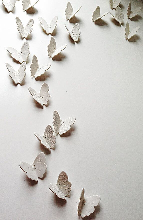 10 Wall Décor Ideas to Upgrade Your Room- 3D Butterflies